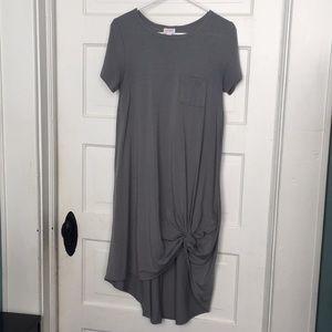 Gray LuLaRoe Dress